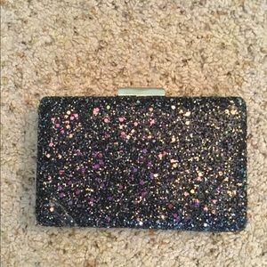 Handbags - AMAZING GLITTER CLUTCH CROSSBODY PURSE, NWT